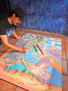 1534852 10205367585539961 2906395834187363545 o 225x300 - Artista PINTA A VALLARTA en EE.UU. para promoverlo; vendrá a hacer murales