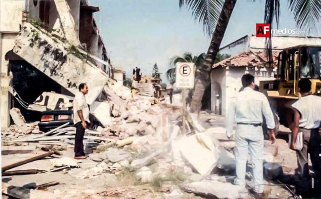 """Foto 2 2 1024x636 - A 26 años del sismo que """"derrumbó"""" el mito de que en PV no temblaba"""