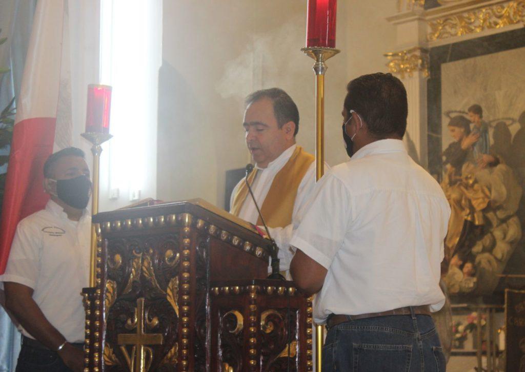 Foto 3 1 1024x726 - Muy emotivo, el inicio de la celebración del centenario de la parroquia de Guadalupe