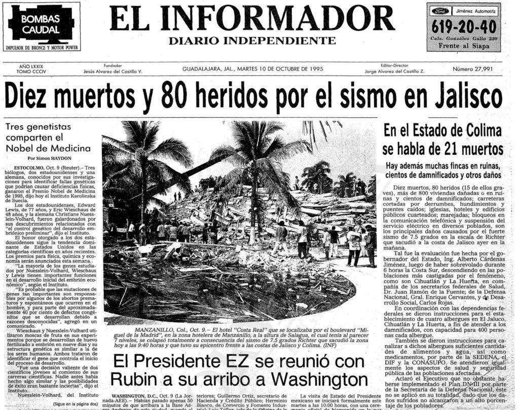"""Foto 3 3 1024x808 - A 26 años del sismo que """"derrumbó"""" el mito de que en PV no temblaba"""